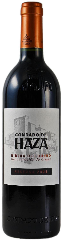Condado de Haza - D.O. Ribera del Duero Reserva  0,75 l - Finca Y Vinedas Condado de Haza S.L.
