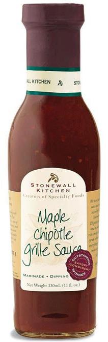 Maple Chipotle Grille Sauce - BBQ-Sauce 330ml - Stonewall Kitchen, USA