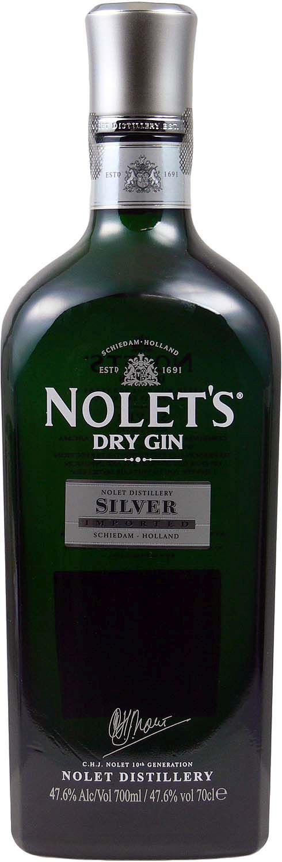 Nolets Dry Gin Silver - Schiedam, Niederlande - 47,6% Vol. 0,70 l