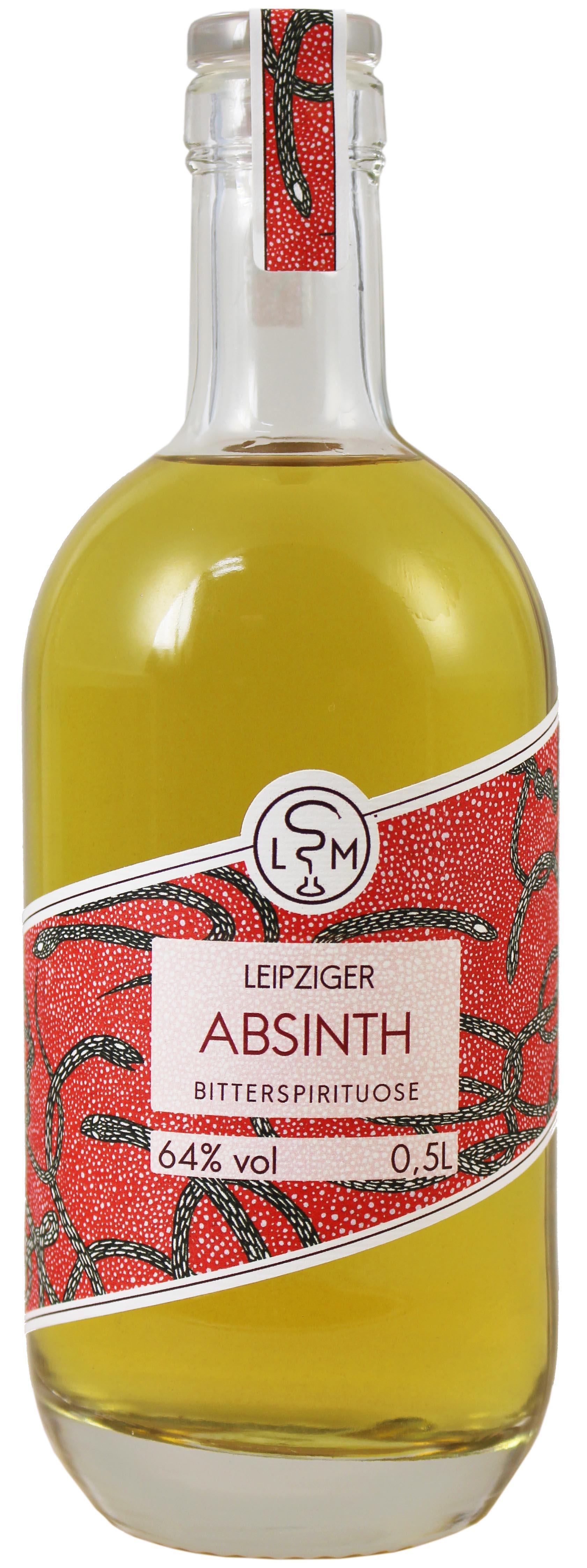 Absinth - 64% Vol.  0,50 l - Leipziger Spirituosen Manufaktur
