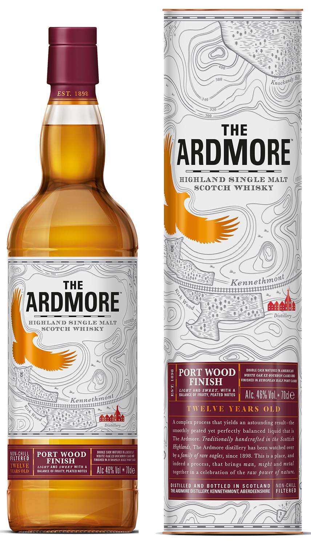 Ardmore 12 Jahre Portwood - Highland Single Malt - 46% Vol. 0,70 l